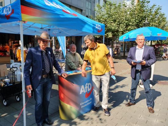AfD Wahlkampf Kommunalwahlen 2020 NRW