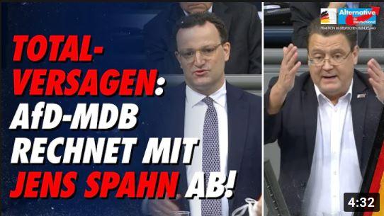 Stephan Brandner, AfD - Rechnet mit Jens Spahn ab